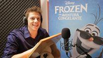 Frozen - Uma Aventura Congelante Trailer Dublado com Apresentação de Fábio Porchat