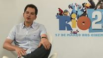 Rio 2 Entrevista com Carlos Saldanha, Rodrigo Santoro, Sergio Mendes e Carlinhos Brown