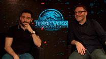 Jurassic World: Reino Ameaçado Entrevista com J.A. Bayona e Colin Trevorrow