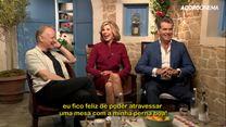 Mamma Mia! Lá Vamos Nós de Novo Entrevista com Christine Baranski, Pierce Brosnan, Dominic Cooper e Stellan Skarsgard