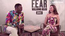Fear the Walking Dead entrevista com Alycia Debnam-Carey e Colman Domingo