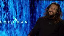 Aquaman Entrevista Jason Momoa e Patrick Wilson