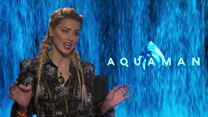 Aquaman Entrevista Amber Heard e James Wan