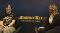 CCXP: Entrevista com produtor e dubladores de Bumblebee