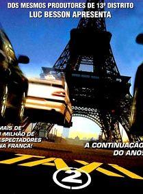 Táxi 2 -  Mais Velocidade Nas Ruas