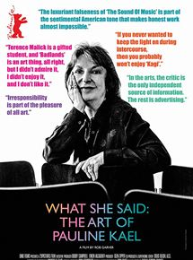 O que Ela Disse: As Críticas de Pauline Kael