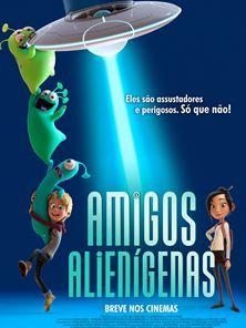 Amigos Alienígenas Trailer Dublado