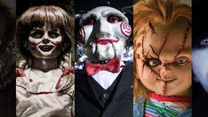 Artista transforma assassinos de filmes de terror em