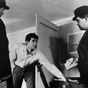 O Processo : Foto Anthony Perkins, Orson Welles
