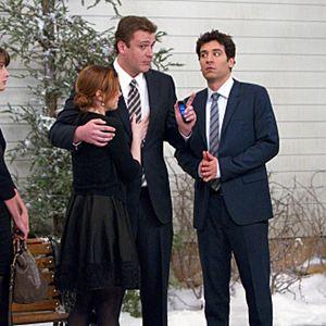 How I Met Your Mother : Foto Alyson Hannigan, Cobie Smulders, Jason Segel, Josh Radnor, Neil Patrick Harris