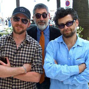 Foto Andy Serkis, John Landis, Simon Pegg