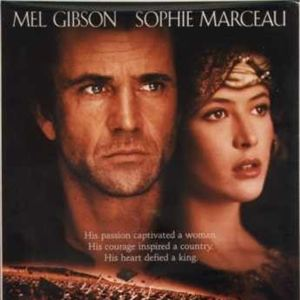 Resultado de imagem para Sophie Marceau no  filme  coração valente