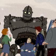 O Gigante de Ferro : Foto