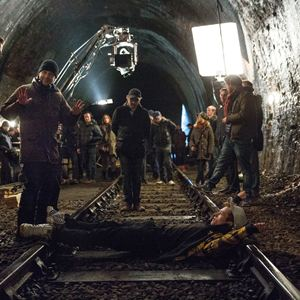 Kingsman - Serviço Secreto : Foto Colin Firth, Matthew Vaughn, Taron Egerton