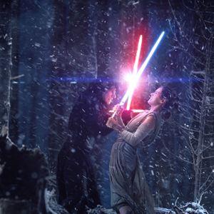 Star Wars - O Despertar da Força : Foto Adam Driver, Daisy Ridley