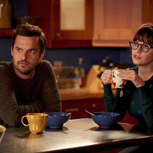 Foto Jake Johnson (XVI), Zooey Deschanel