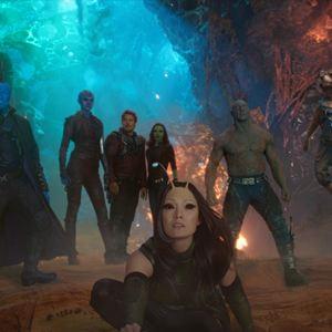 Guardiões da Galáxia Vol. 2 : Foto Chris Pratt, Dave Bautista, Karen Gillan, Michael Rooker, Pom Klementieff