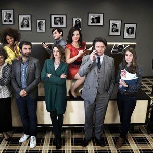 Foto Camille Cottin, Grégory Montel, Laure Calamy, Nicolas Maury, Thibault de Montalembert