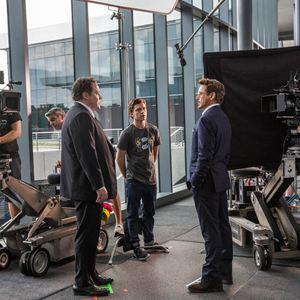 Homem-Aranha: De Volta ao Lar : Foto Jon Favreau, Robert Downey Jr., Tom Holland