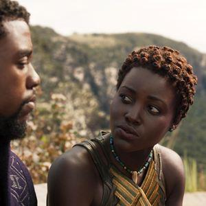 Pantera Negra : Foto Chadwick Boseman, Lupita Nyong'o