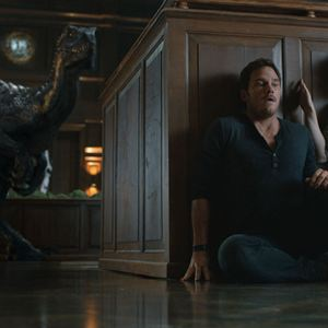 Jurassic World: Reino Ameaçado : Foto Bryce Dallas Howard, Chris Pratt, Isabella Sermon