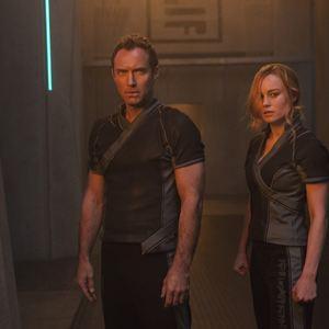 Capitã Marvel : Foto Brie Larson, Jude Law