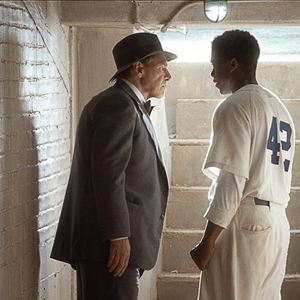 42 - A História De Uma Lenda : Foto Chadwick Boseman, Harrison Ford