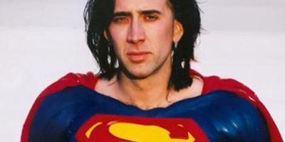 Nicolas Cage acha bom que o Superman de Tim Burton com ele no papel principal não tenha se concretizado