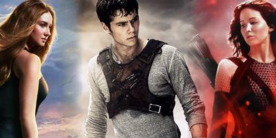 Qual é a melhor saga: Maze Runner, Jogos Vorazes ou Divergente?