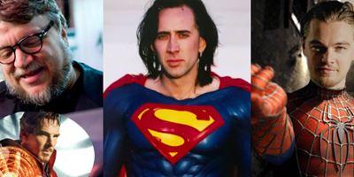 10 filmes de super-heróis que quase aconteceram