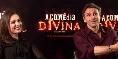 Murilo Rosa e Mônica Iozzi falam sobre o carismático Diabo de A Comédia Divina (Exclusivo)