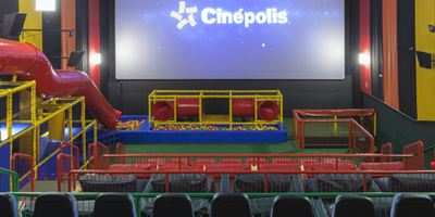 Brasil terá a primeira sala de cinema com playground da América do Sul