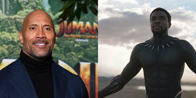 Dwayne Johnson elogia Pantera Negra e diz que o sucesso do filme nas bilheterias o motivou
