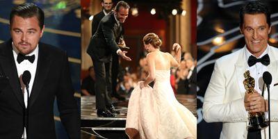 Oscar 2018: Os discursos mais vistos no YouTube