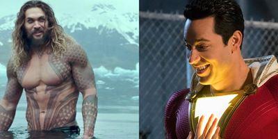 Comic-Con 2018: Confira os uniformes de Aquaman e Shazam!
