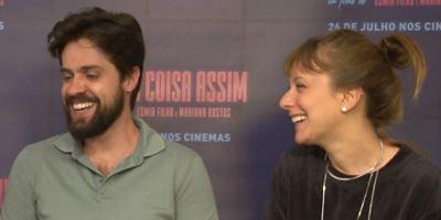 Alguma Coisa Assim: Carol Abras e André Antunes comentam a evolução de seus personagens (Entrevista)