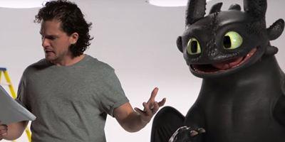 Como Treinar o Seu Dragão 3: Jon Snow conhece Banguela em vídeo promocional
