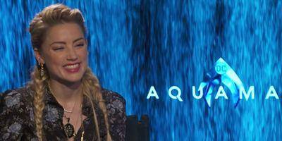 """Aquaman: Não é sobre """"homem salva o mundo e fica com a garota no final"""", diz Amber Heard (Entrevista exclusiva)"""