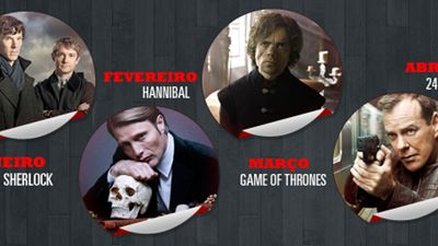 Calendário de séries de TV para o primeiro semestre de 2014