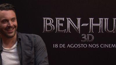 """Ben-Hur: """"Não senti medo maior do que interpretando qualquer outro personagem"""", garante Jack Huston (Exclusivo)"""