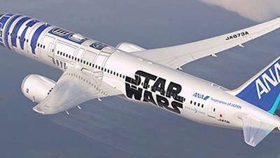 Personagens de filmes e desenhos invadem as estampas de aeronaves