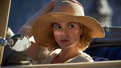 Romance da Netflix com Lily James ganha novo trailer