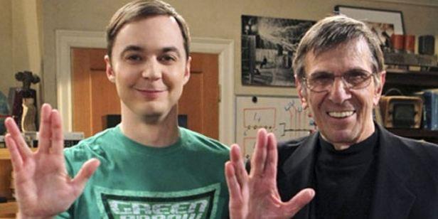 The Big Bang Theory presta homenagem a Leonard Nimoy