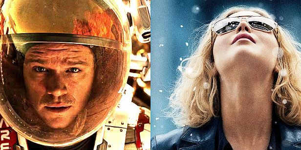 Perdido em Marte e Joy: O Nome do Sucesso vão concorrer como comédia no Globo de Ouro 2016