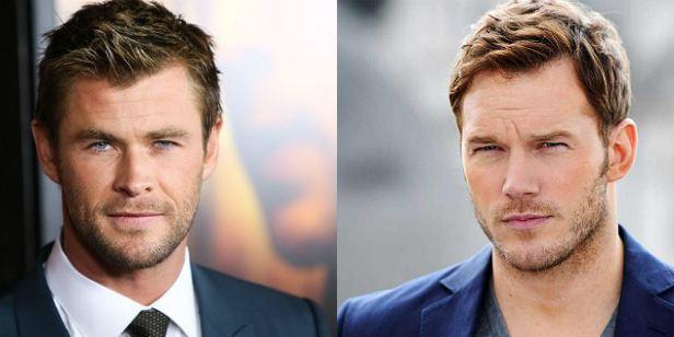 Chris Pratt e Chris Hemsworth seriam as escolhas do autor Mark Millar para a adaptação da graphic novel Chrononauts