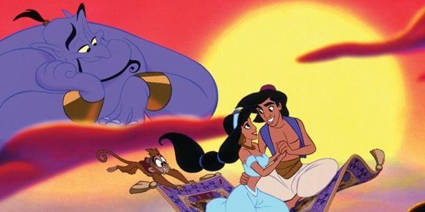 Will Smith divulga foto com o elenco da versão live-action de Aladdin