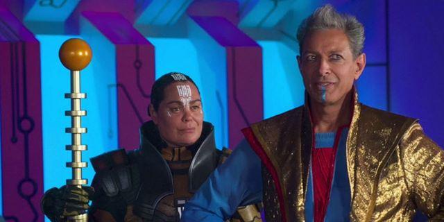 Thor - Ragnarok: Confira duas hilárias cenas deletadas com o Grão-Mestre de Jeff Goldblum