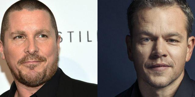 Christian Bale e Matt Damon podem estrelar filme sobre a lendária disputa entre a Ford e a Ferrari