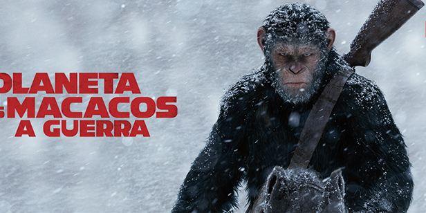 Planeta dos Macacos: A Guerra chega ao Telecine Play