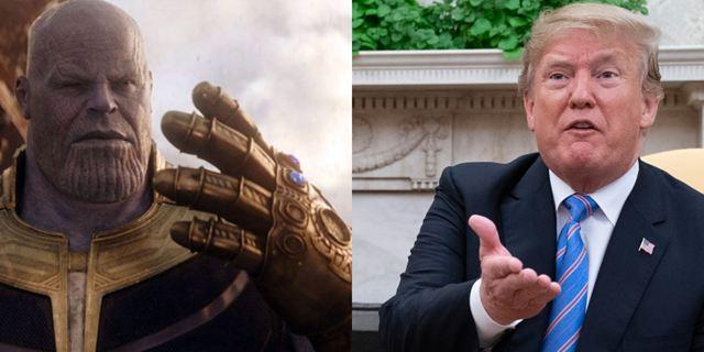 Josh Brolin lê tuítes de Donald Trump com voz do Thanos